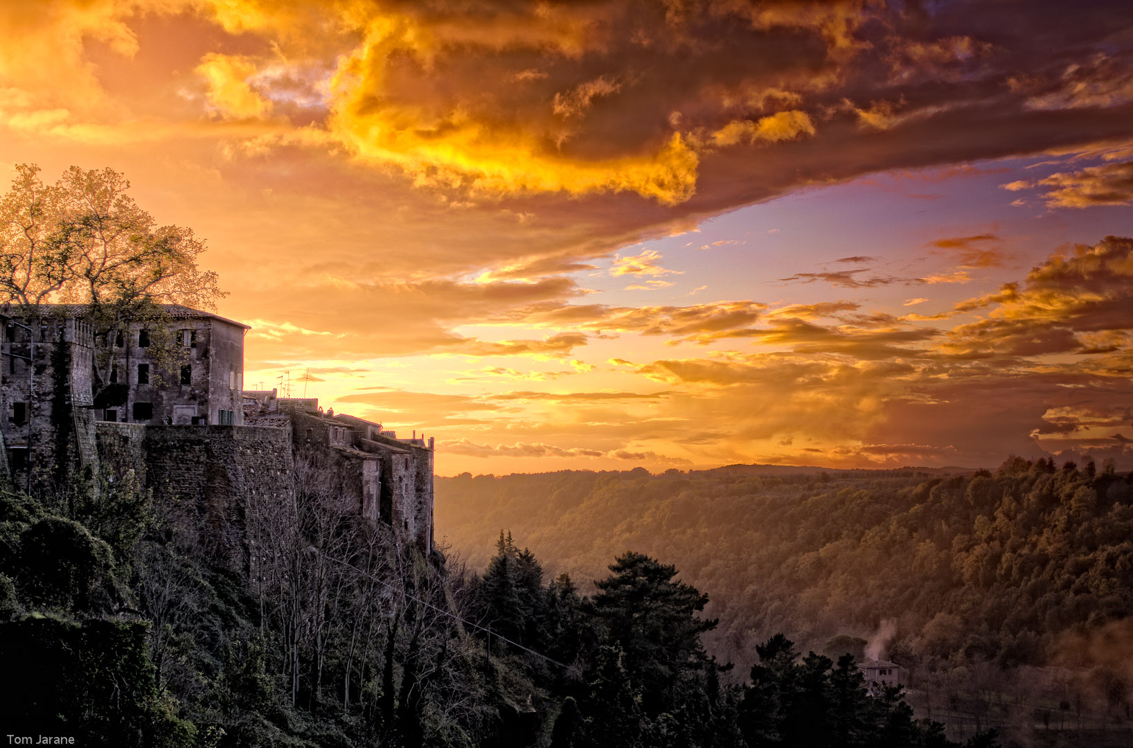 Pitigliano in Sunset II