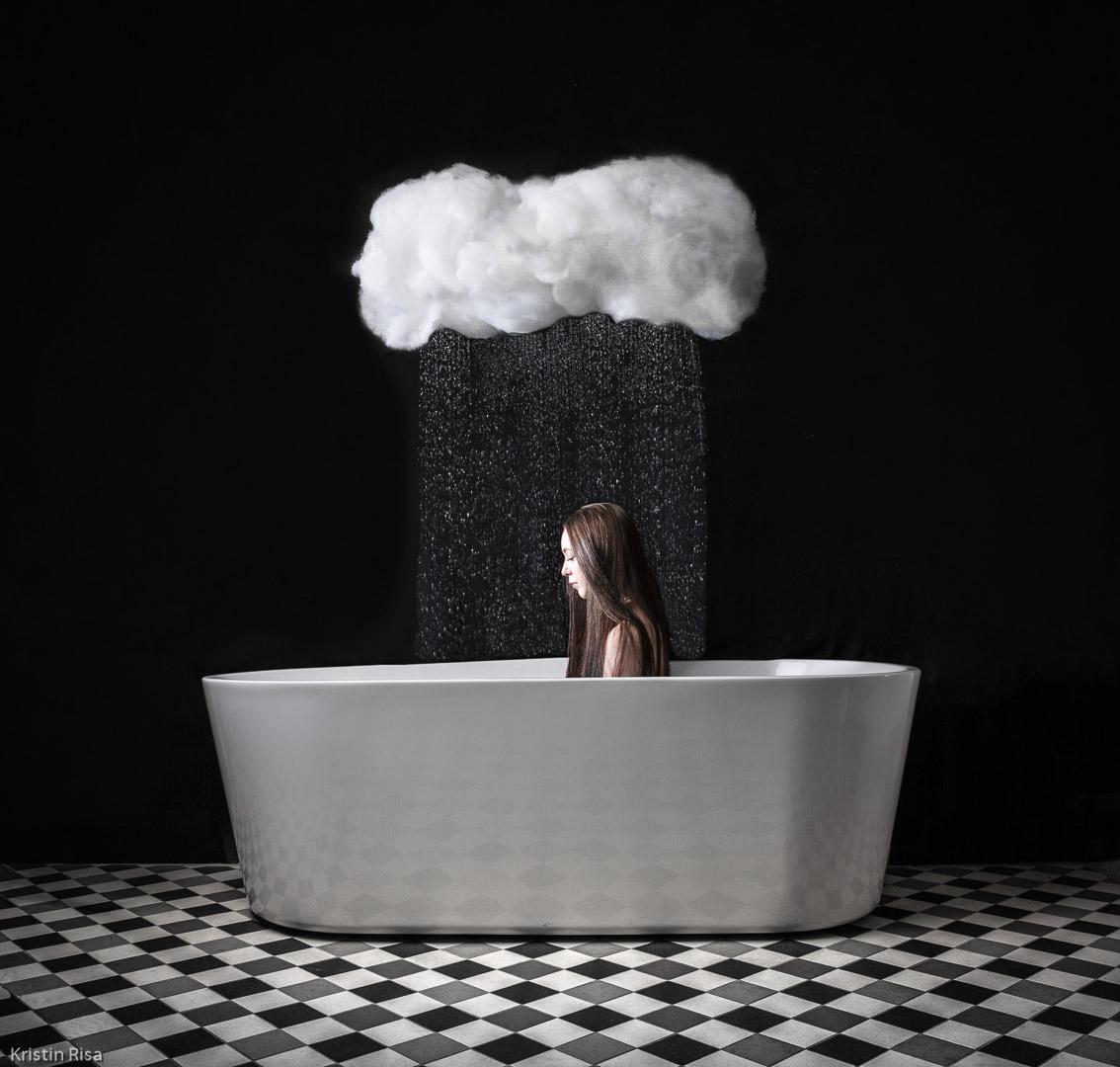 PRF-Sølv-Kristin Risa-A rainy day